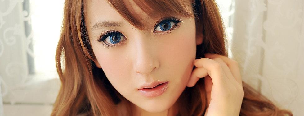 Starry.i Blue Contact lens -Korea Cosmetic circle lenses