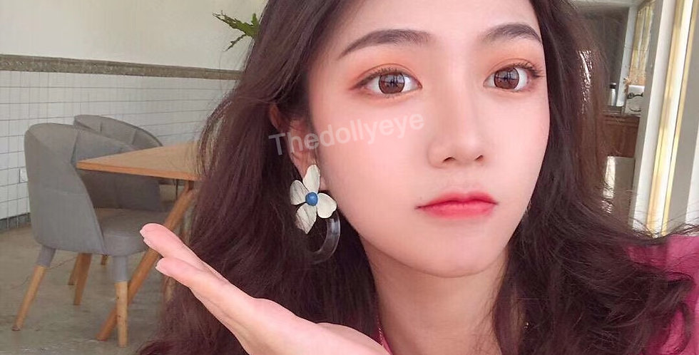 DOLLY Brown Contact lens -Korea Cosmetic circle lenses