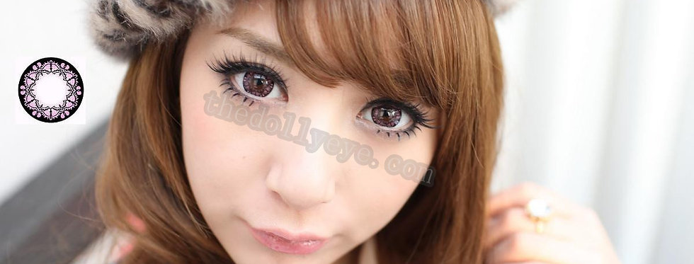 Bat Pink Contact lens -Korea Cosmetic circle lenses