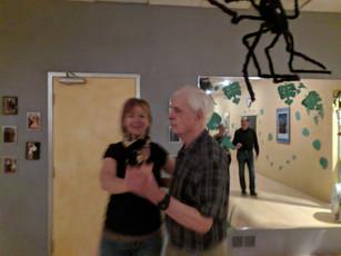 Hugh and Elke with a Foxtrot