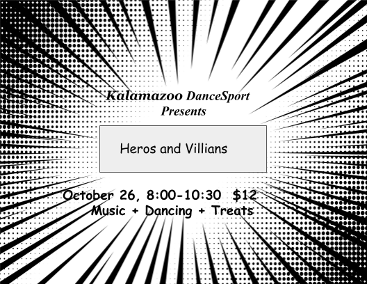 Heroes & Villians 2019 invite