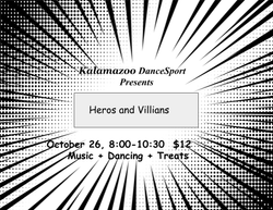 Heroes & Villians 2019 invite