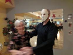 Scary Dance Partner