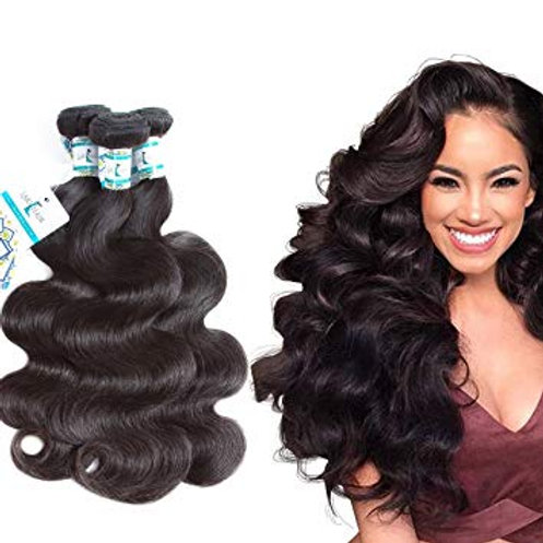 "8 A-Grade Virgin Brazilian Hair | Body Waves - 10"" to 28"" 3 Bundles"