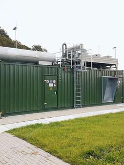 Im Container sind Kompaktanlagen sicher und flexibel