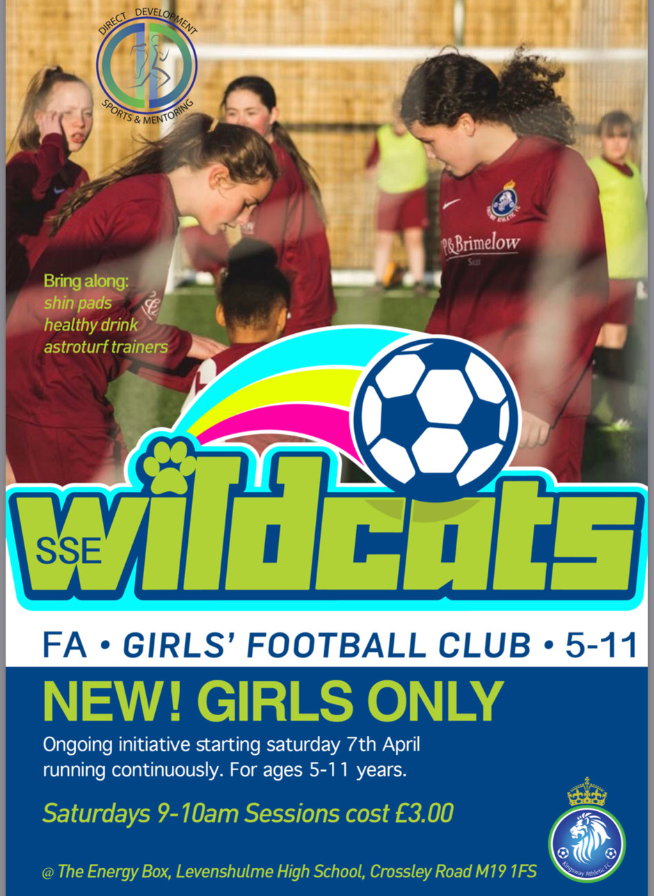 KINGSWAY ATHLETIC FC RECRUITING FOR GIRLS FOOTBALL
