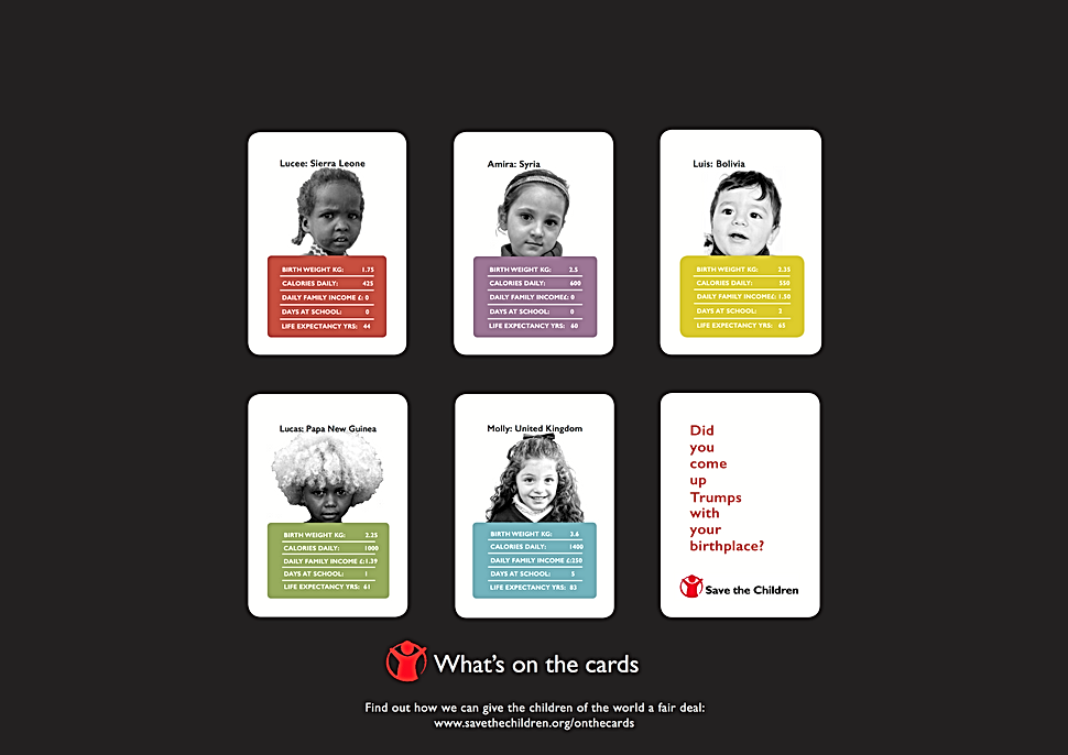 Campaign Poster Save the Children