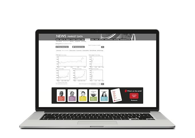 Website advert design