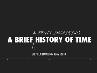 Stephen Hawking 1942-2018