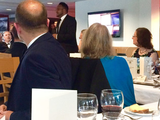 An inspiring evening with Exeter College Alumni Dinner. So many talented people together with Michae