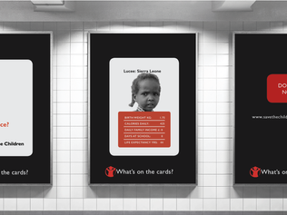 Design Bridge awards Deborah Spencer for 'Save the Children' design project