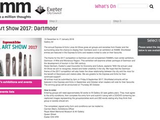 Feeling creative? Enter the Dartmoor Art Show at the RAMM