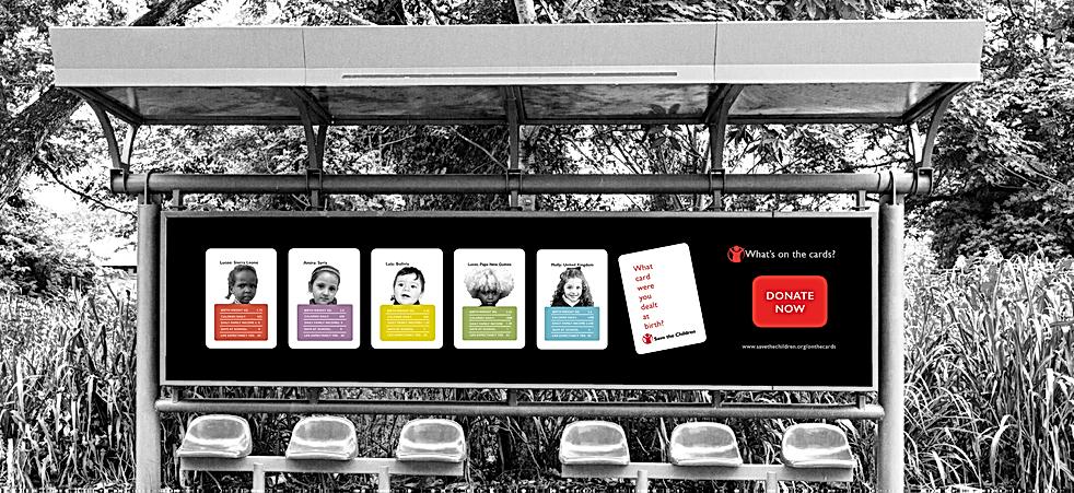 Bus advert design