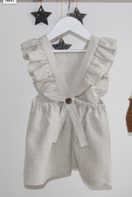 Freya & Lillie linen dress - baby