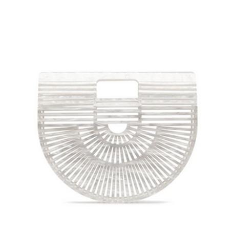 Cult Gaia Acrylic Ark Mini Pearl