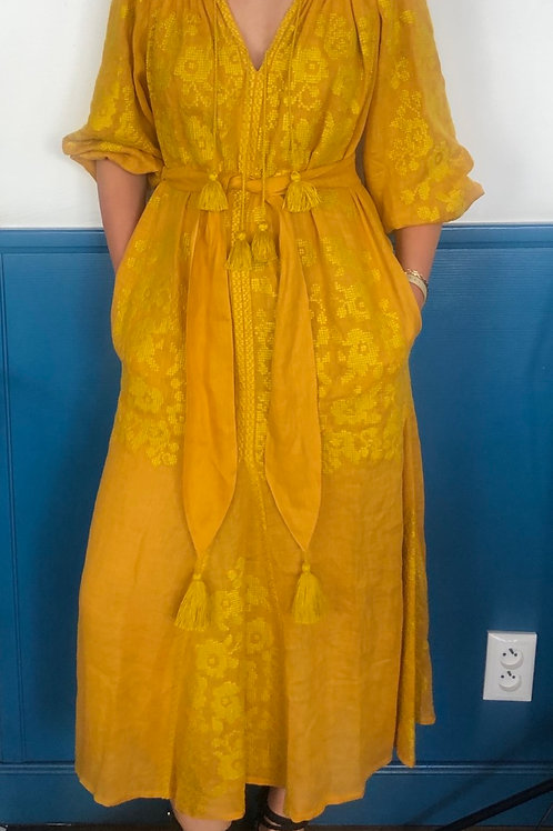 Bazena linen dress