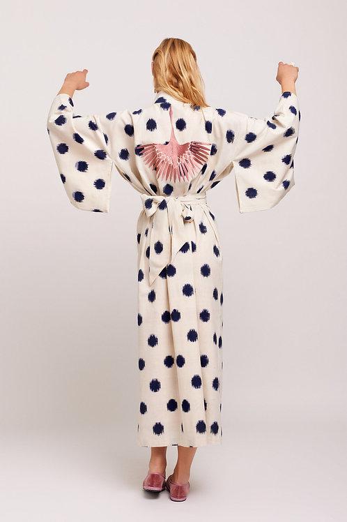 Kleed Kimonos Blue Dots Kimono