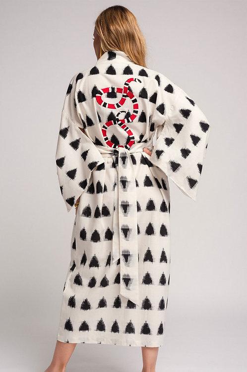 Kleed Kimonos Black Dots Kimono