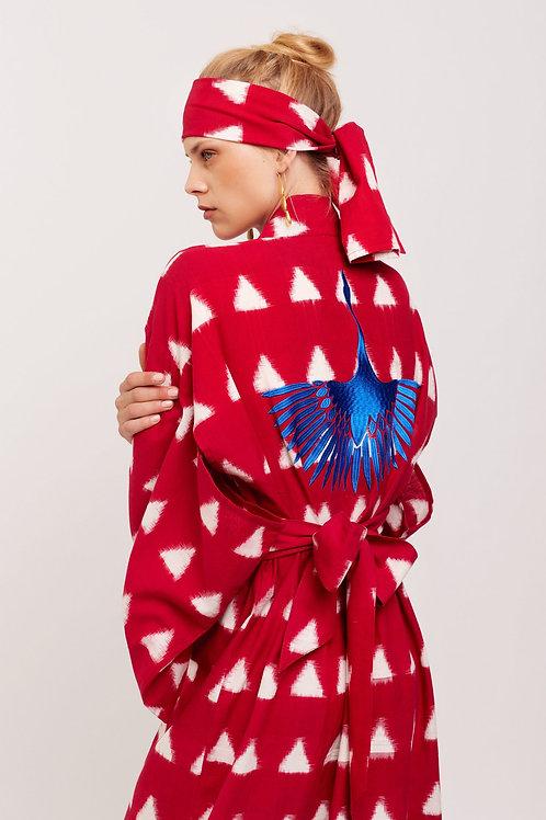 Kleed Kimonos Electric Crane Kimono