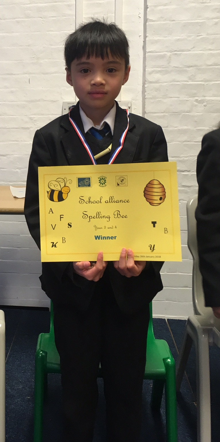 Spelling Bell - Year 3 & 4