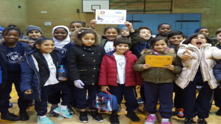 Year 3 and 4Sporting Hall-Jubilee Centre