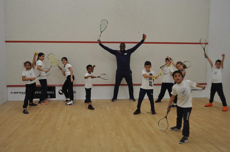 Squash Club!