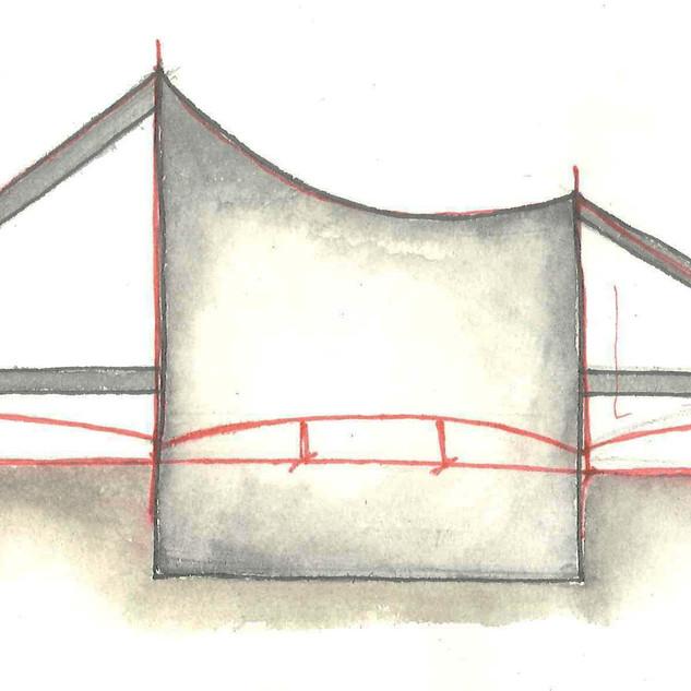 Tent pavilion. 2012