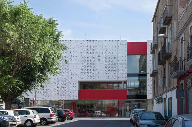 Municippal Library Sant Vicenç de Castellet