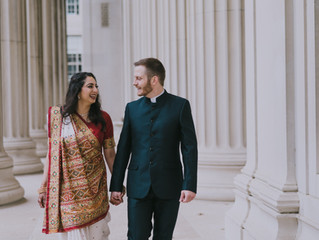 Shreya + Mitch //  Across the River wedding