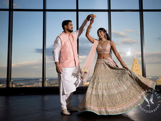 Priya + Varun // On Top of the World