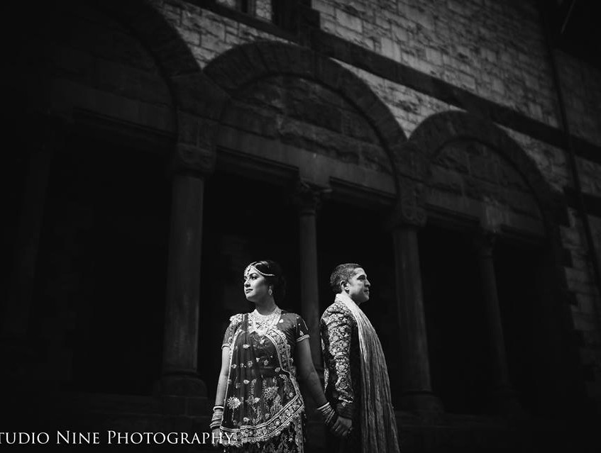 Lisa and M first look BW