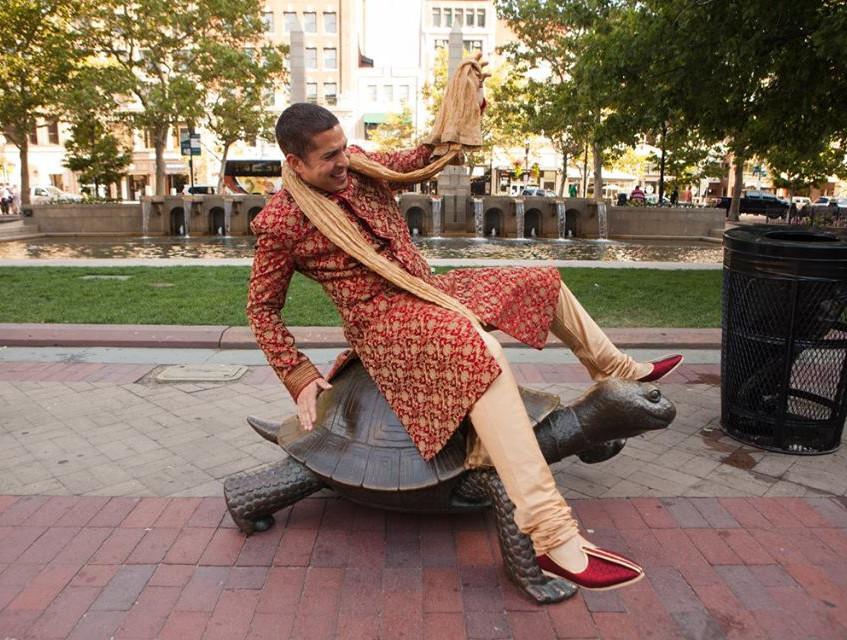 majd on turtle