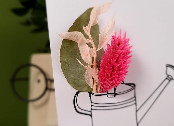Carte Fleurie Merci 3