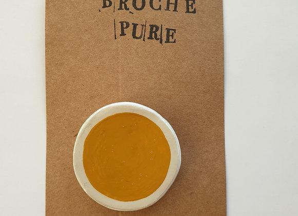 Broche Pure Jaune