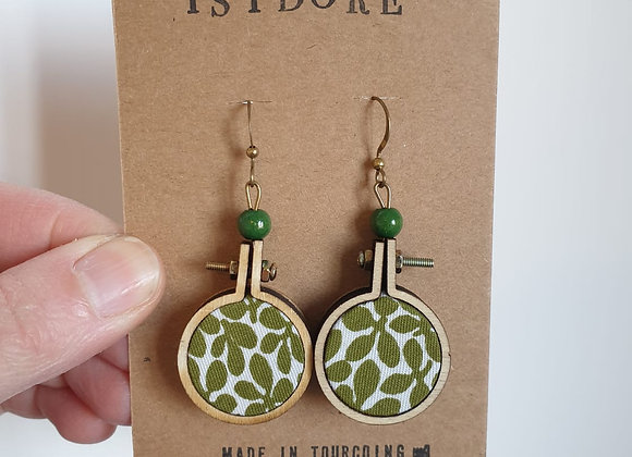Boucles d'oreilles Isidore