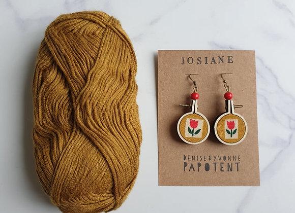Boucles d'oreilles Josiane