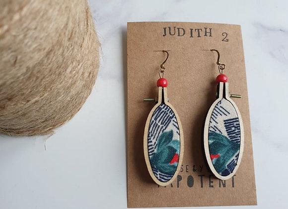 Boucles d'oreilles Judith 2