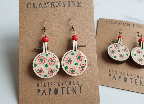 Boucles d'oreilles Clémentine