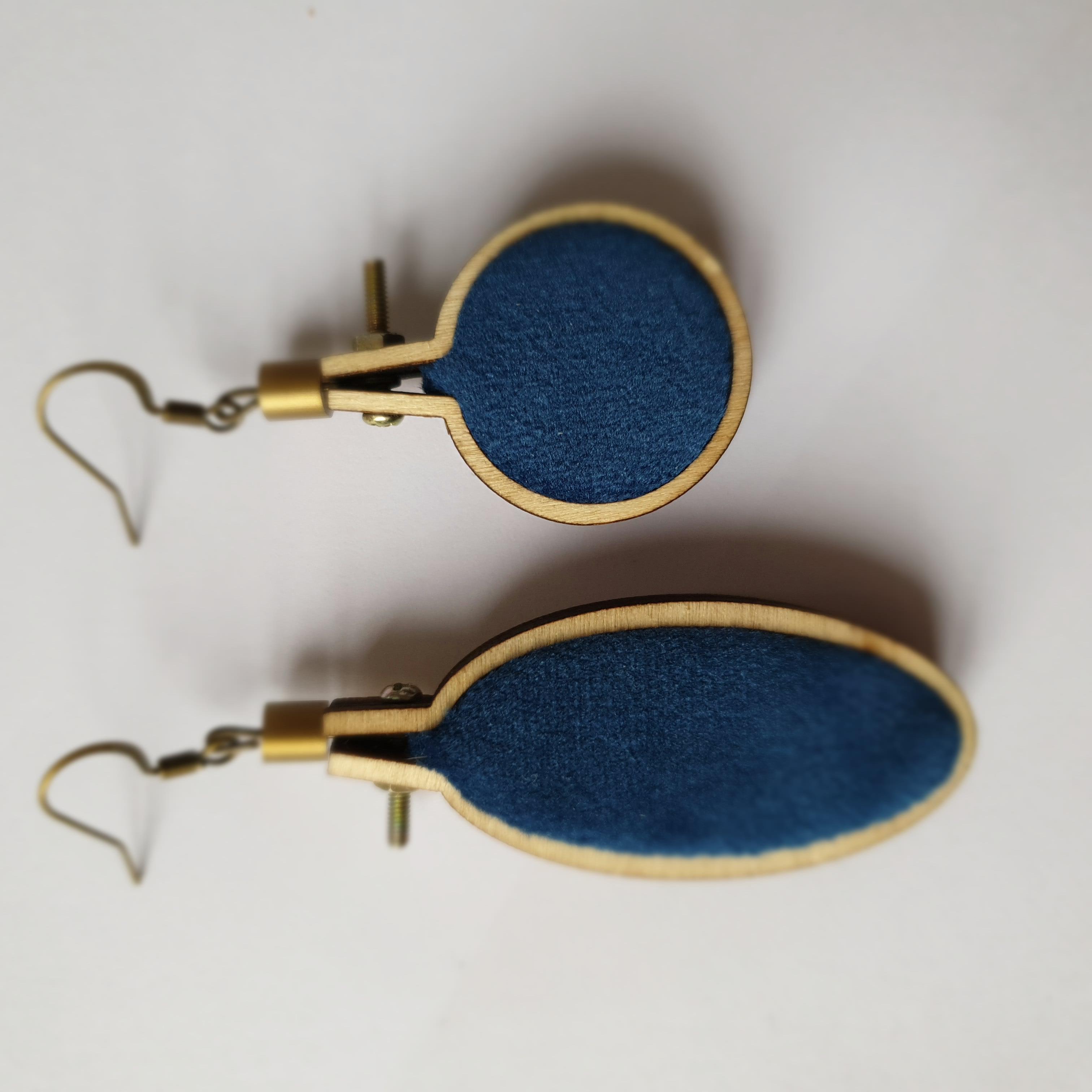 Boucles d'oreilles Mucha - Denise et Yvo