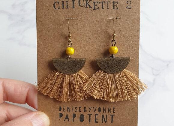 Boucles d'oreilles Chickette 2