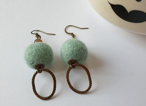 Boucles d'oreilles Gisèle 1