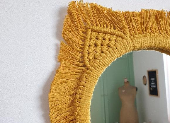 Miroir Marietta jaune