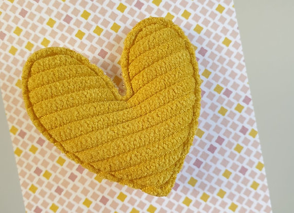 Broche Canelle Moutarde