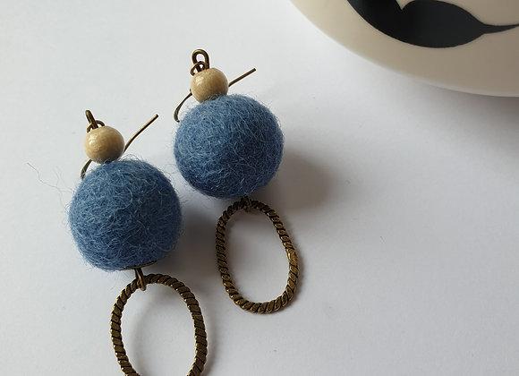 Boucles d'oreilles Gisèle 3