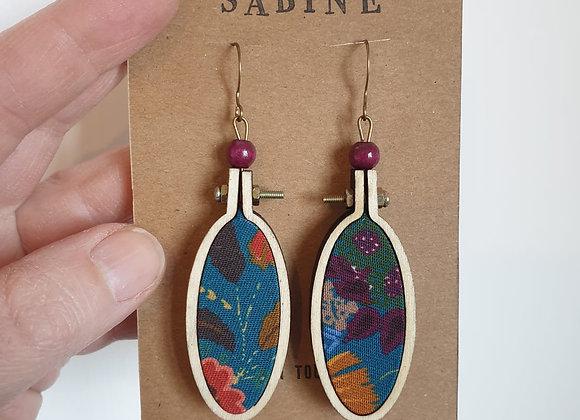 Boucles d'oreilles Sabine