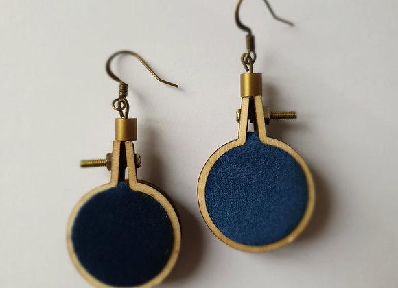 Boucles d'oreilles Mucha 1
