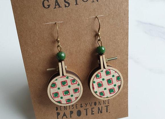 Boucles d'oreilles Gaston
