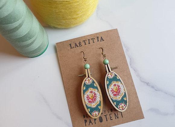 Boucles d'oreilles Laetitia