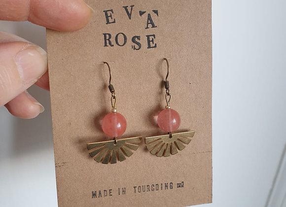 Boucles d'oreilles Eva Rose