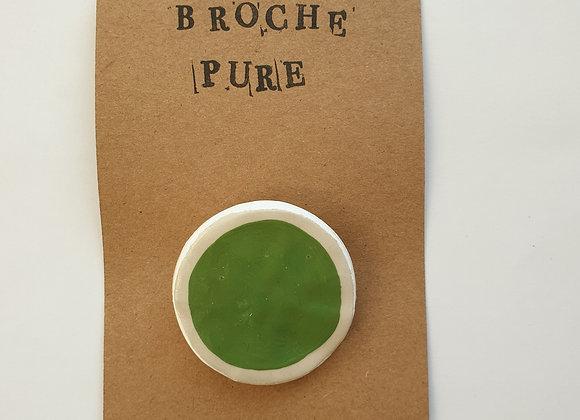 Broche Pure Vert